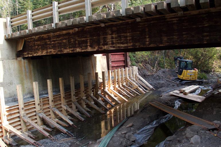 Photo of Bridge Support Repair