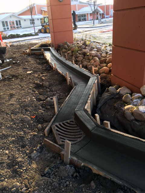 Photo of Concrete Curb Work